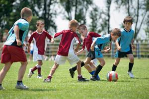 サッカー療育